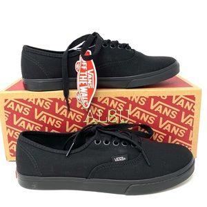VANS Authentic Lo Pro Black Canvas Women' Sneakers